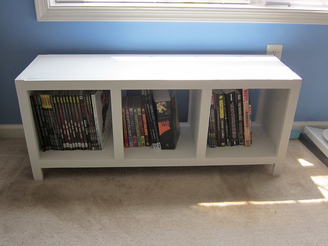 finished bookcase bench flickr photo sharing