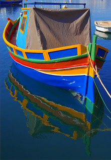 Boat & Reflection