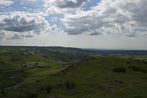 Loudoun Hill towards Arran