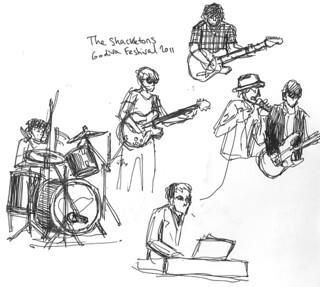 Godiva Festival 2011 - The Shackletons