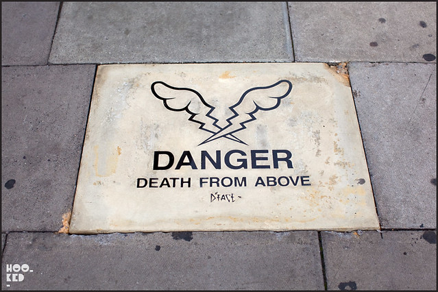 D*Face Street Art Paving Stone