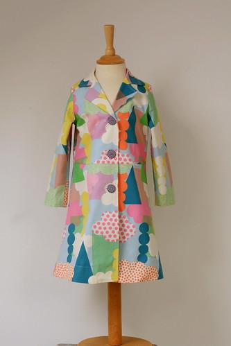 kleurrijke mantel