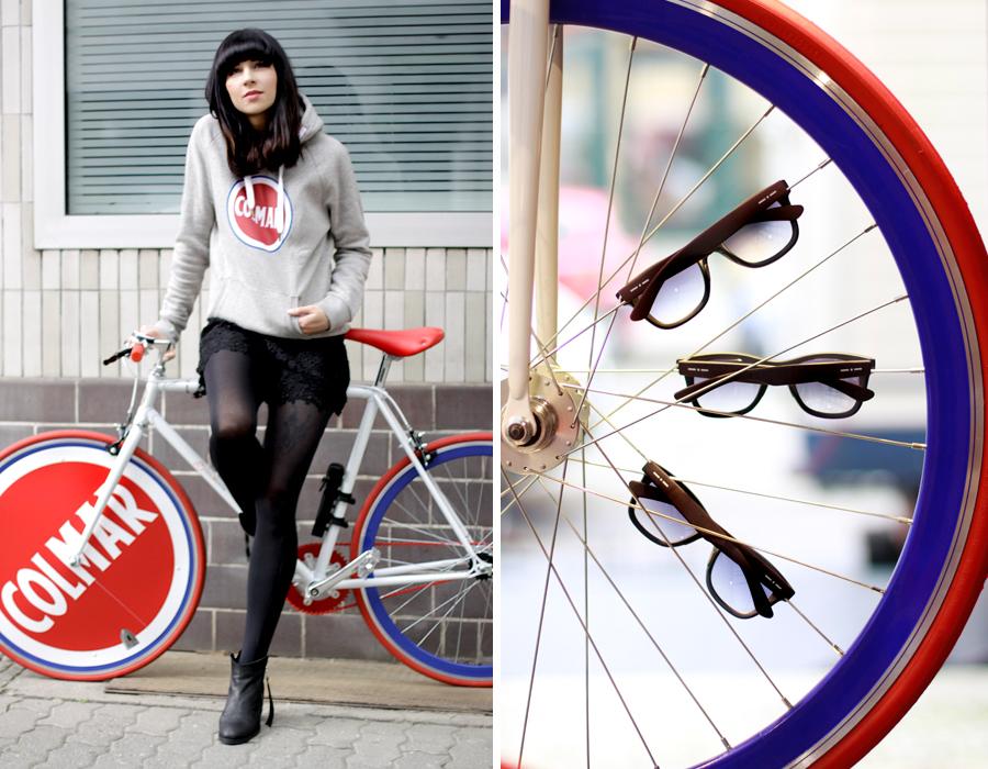Colmar Originals Store Opening in Berlin Mitte 14.05.14 blogger Ricarda Schernus bike bicycle 3