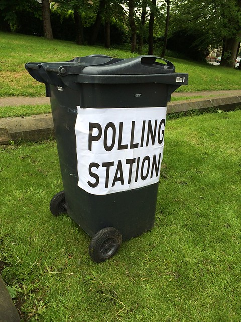 Our favourite polling station sign