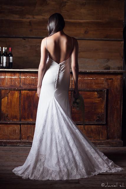Wedding Dress by Daniel Sanchez