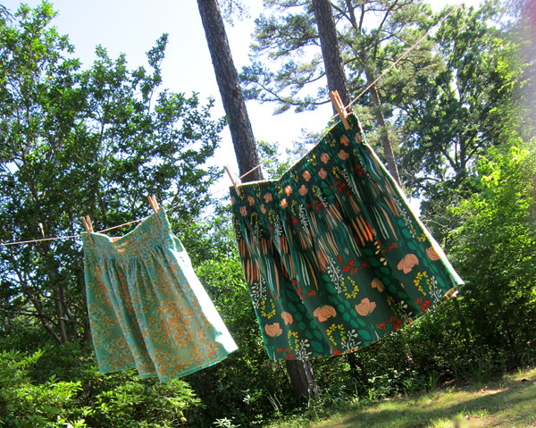 Flirting the Issue skirts!