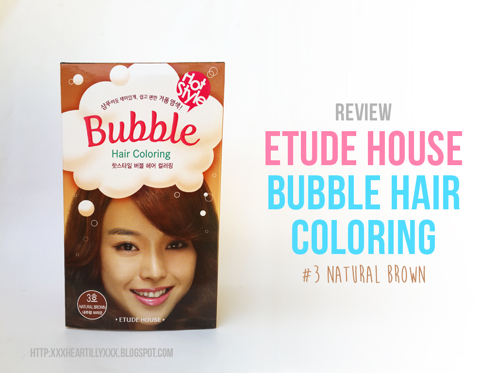 etude bubble hairdye