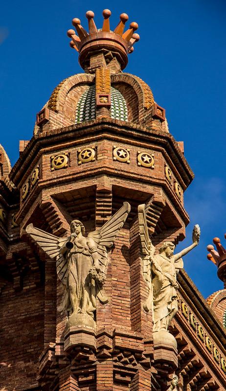 Detail Arc de Triomf