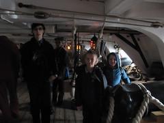 On board HMS Victory