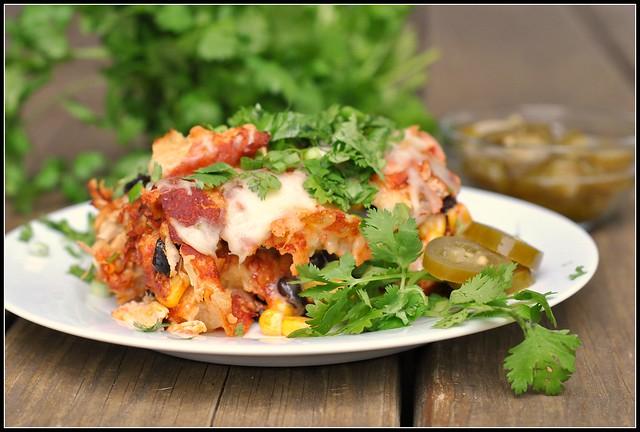 Chicken Enchilada Casserole 3