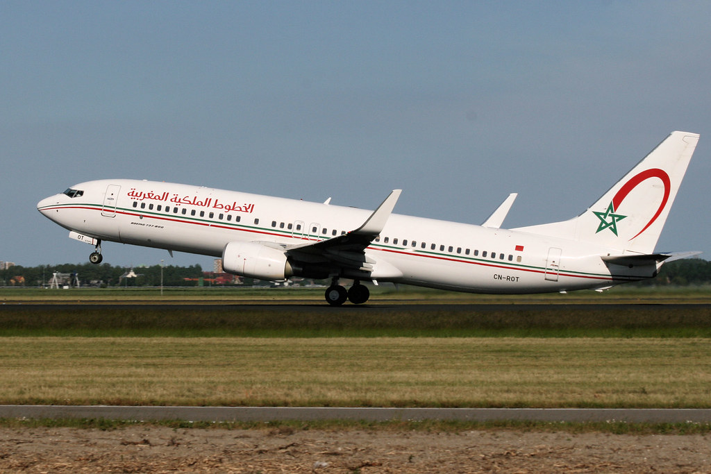 CN-ROT - B738 - Royal Air Maroc