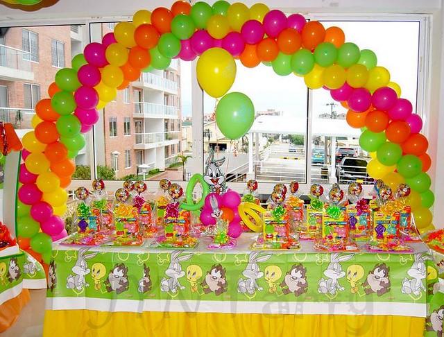 Decoración de los Looney Tunes de bebés - Imagui