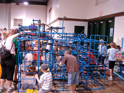 Maker Faire NC: Blue Chaos Machine