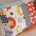 flippers and kippers cushion
