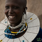 Masai Woman and Laughter - Lake Manyara, Tanzania
