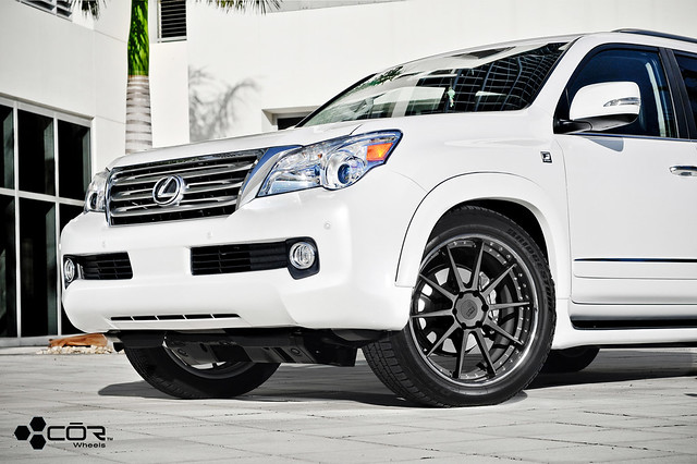lexus gx 460 w cor cipher forged wheels flickr photo. Black Bedroom Furniture Sets. Home Design Ideas