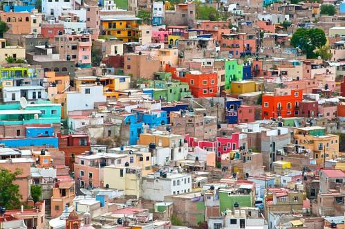 mexico guanajuato colorfulhomes