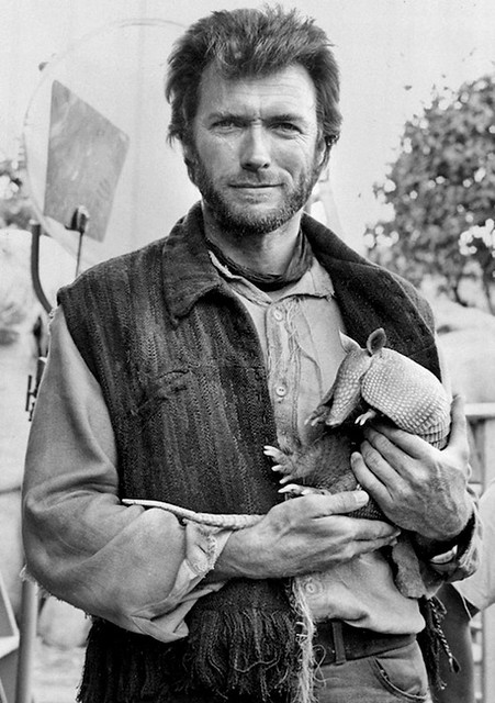 1964 ... Clint with fully loaded Armadillo!
