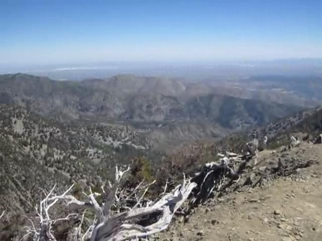 0732 Telegraph Peak summit panorama