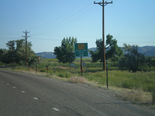US-20 West/WY-789 North at WY-172
