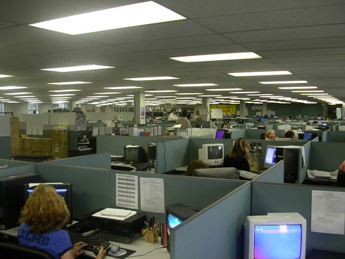 Cubicle Farm, Louisville, KY, 2004