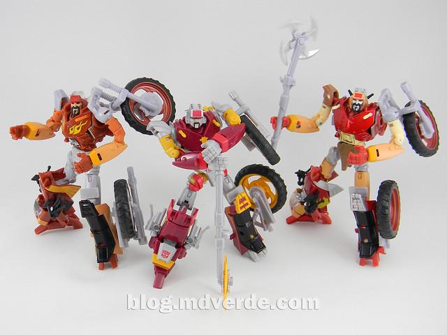Transformers Junkheap Deluxe - Generations - modo robot vs Junkions