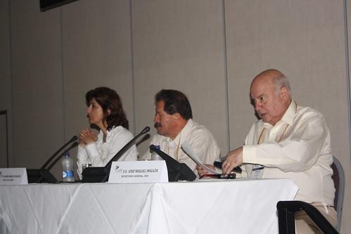 Secretario General Insulza destaca rol de la sociedad civil en la agenda hemisférica