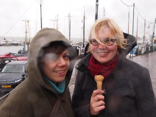 Ice Cream In The Rain With Malia