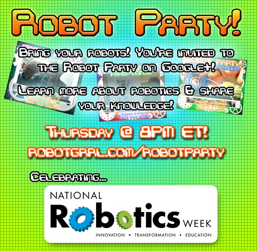 Robot Party National Robotics Week