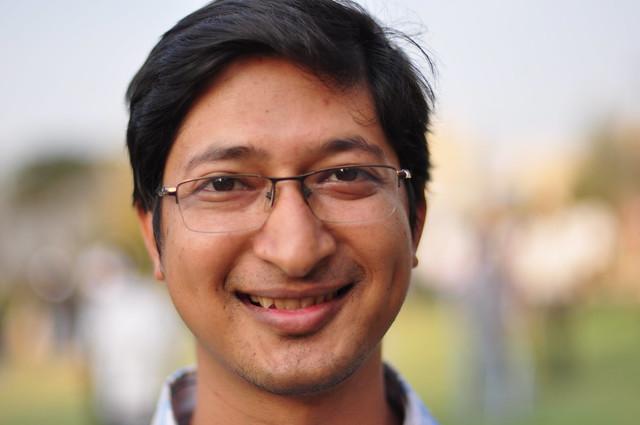 Header of Kaushik Banerjee