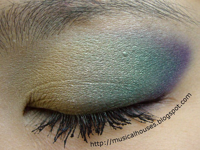 chanel peridot eye look 2