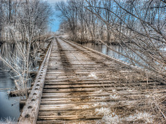 No one's been working on the rail road
