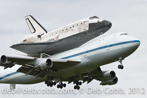 Week 16: Point A to B, Deb Cobb, Space Shuttle Discovery