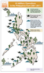 Infographic: US Military Operations in the Philippines from 2001-2011