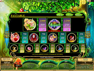 free Mystique Grove slot payout