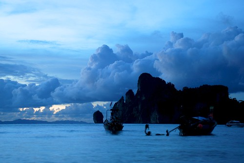 Sunset Clouds, Phi Phi May 2012