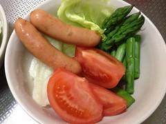 朝食サラダ(2012/4/7)