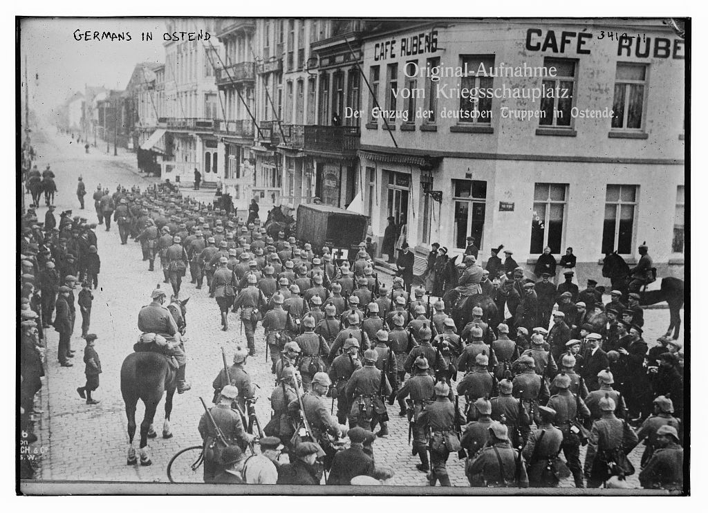 Germans in Ostend  (LOC)