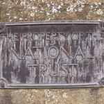 Tintinhull House - plaque - The property of the National Trust