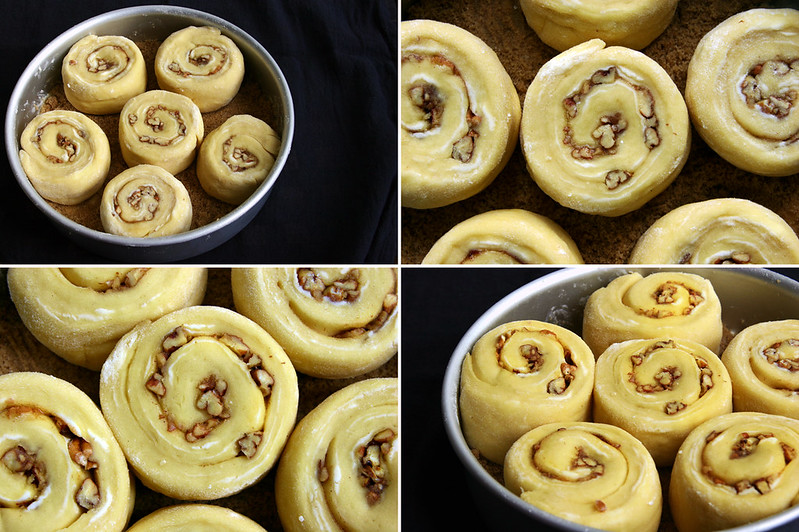final sticky bun rise before after