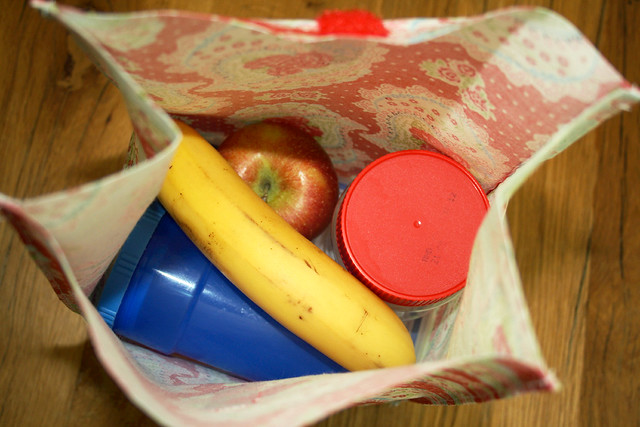 lunchbag inside