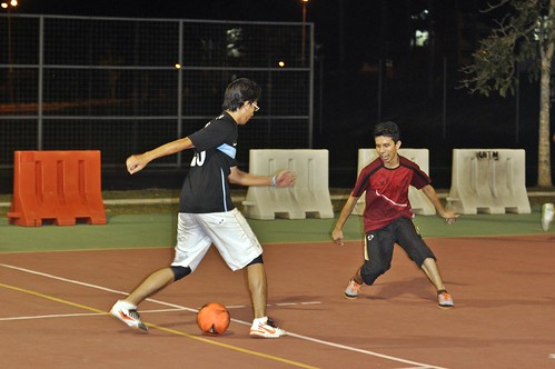 Futsal Player by abuzaidhussien