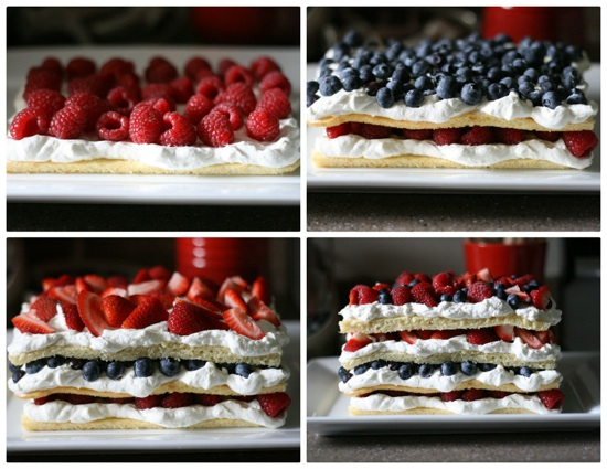 Layered Berry Cake 7
