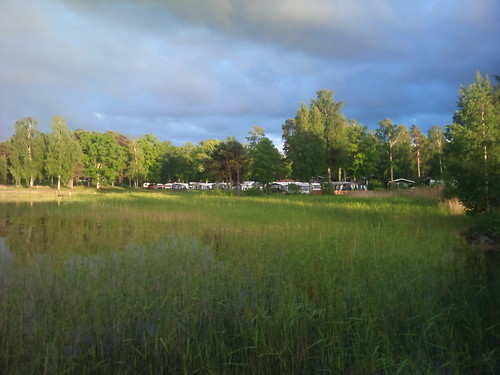Sunlight in Ekudden camping by XPeria2Day