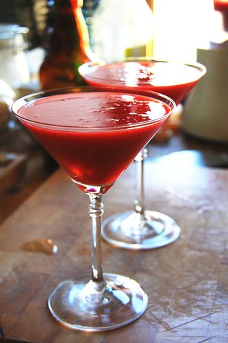 voila - strawberry daiquiri's