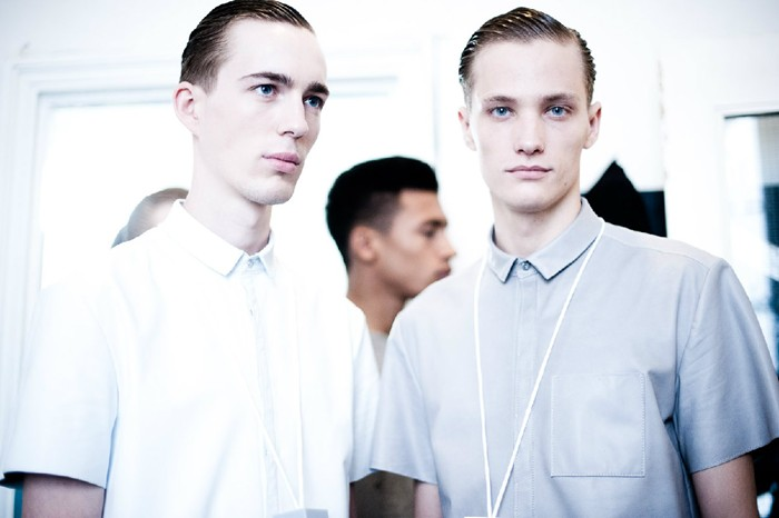 SS13 London Richard Nicoll026_Milo Spijkers,Andras Kajari(Dazed Digital)