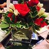 Winner, winner!  Just won a killer centerpiece at the Winner's Dinner!  #plexusfreedom #plexuswest
