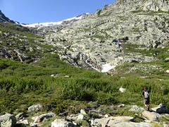 Arrivée dans le vallon du Lavigliolu