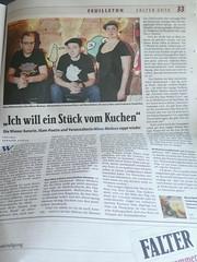 mieze medusa & tenderboy, Sparverein der Träume, HipHop, Poetry Slam, Wien, Falter