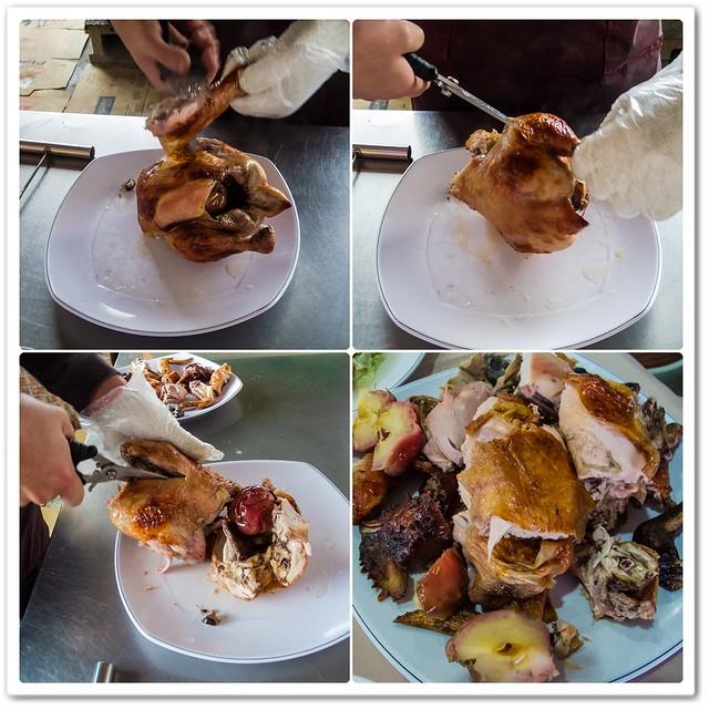 蘋果園甕仔雞-清境餐廳